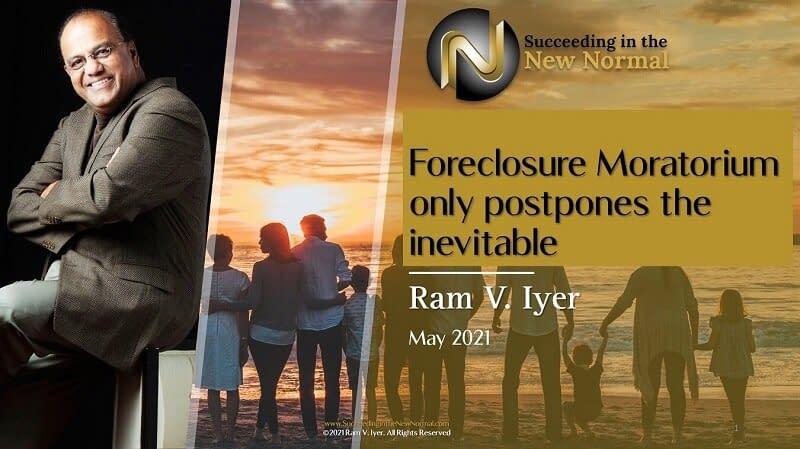 Foreclosure Moratorium Only Postpones the Inevitable